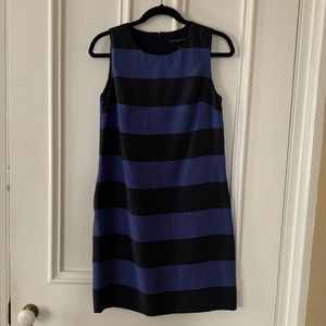 Banana Republic Striped Shift Sleeveless NEW